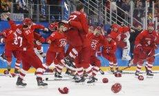 OAR hokejisti pamatlaikā izglābjas un pagarinājumā izcīna Phjončhanas zelta medaļas
