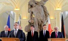 'Višegrādas četrinieks' iestājas pret ES strauju integrāciju