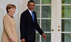Obama un Merkele: Jaunas sankcijas pret Krieviju varētu skart konkrētas nozares