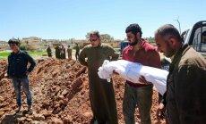 Bojāgājušo skaits Sīrijas karā pārsniedzis 340 000