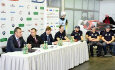 Latvijas kamaniņu sporta izlases vadība ar cerībām raugās uz jauno sezonu