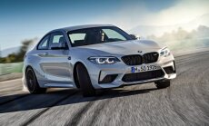 BMW oficiāli prezentējis 'M2 Competition' ar 410 ZS