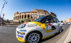 Sesks ERČ 'Rally di Roma Capitale' līderis junioru ieskaitē pēc pirmās sacensību dienas