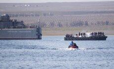 Ukraina zaudē vēl vienu karakuģi; komanda pirms ieņemšanas sabojā aprīkojumu