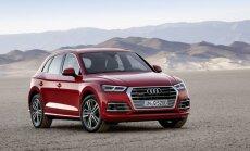 Jaunais 'Audi Q5' kļuvis par 90 kilogramiem vieglāks