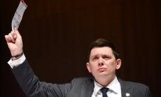 'Aizturēts, ne vajāts' – Kaimiņš nav zaudējis tiesības piedalīties Saeimas sēdēs