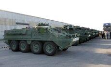 ASV tankus un kaujas mašīnas Latvijā nomainīs bruņumašīnas