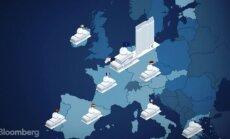 Ietekmīgais 'Bloomberg' datu vizualizācijā Latgali nošķir no Latvijas, satraucas aculiecinieks