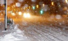 Brīdina par stipru snigšanu Latvijas austrumos un centrālajā daļā