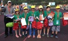 Latvijas labākie jaunie velosipēdisti – Kusas pamatskolas komanda