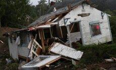 Foto: ASV Oregonas štatā divi spēcīgi tornado izposta ēkas un nolauž kokus