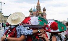 Pēc randiņa ar krievieti Maskavā pazudis Meksikas futbola līdzjutējs