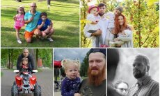 Ko bērnam var iemācīt tikai tēvs: runā latviešu tētuki