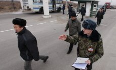 Uz Krievijas – Ukrainas robežas uzspridzinājies vīrietis