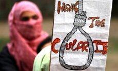 Indijā ievieš likumu par nāvessodu piespriešanu bērnu izvarotājiem