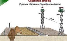 Attēli: Kā nostiprinās Ukrainas - Krievijas robežu