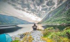 Uz velosipēda un ar mugursomu plecos: Artūra stāsts par Norvēģijas apceļošanu