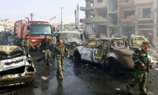 Авиабаза в сирийском Хомсе подверглась ракетному удару