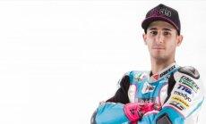 Pēc kritiena treniņbraucienā miris 24 gadus vecais 'Moto2' braucējs Saloms