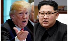 Tramps atklāj, ka varētu ielūgt Kimu uz Vašingtonu