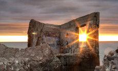 ФОТО: Волшебный закат на Лиепайских северных фортах