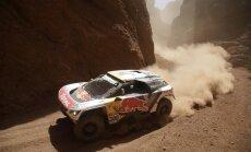 Peteransels Dakaras priekšpēdējā posmā finišē otrais