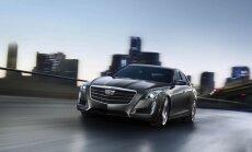 'Cadillac' atjauninājis 'CTS' sedanu