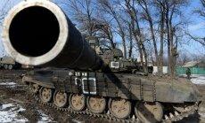 Vācu mākslinieks pie Gaismas pils uzstādīs Ukrainā sašautu tanku