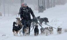 Zviedrijas ziemeļos brīdina par sniegputeni; valsts dienvidos +28 grādi