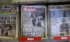 Elizabete II ar nacistu sveicienā izstieptu roku: tabloīds publicē neredzētus 1933. gada kadrus