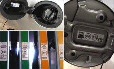 Degvielas pistolēm benzīntankos Latvijā būs jauni marķējumi, paredz ES direktīva