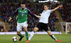 Vācijas un Anglijas futbolisti kvalificējas nākamā gada Pasaules kausa finālturnīram
