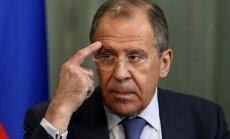 Krievija ANO Drošības padomē bloķēs miera uzturētāju nosūtīšanu uz Ukrainu, norāda Lavrovs