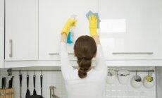 Kā pareizi mazgāt un rūpēties par virtuves skapīšiem
