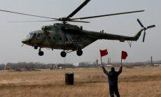 Krievijas ziemeļos nogāzies helikopters Mi-8
