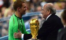 Noijers, Vācijas futbola izlase un Serēna Viljamsa - gada labākie sporta žurnālistu vērtējumā