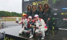 'World RX' Francijā: Latvijas pilotiem pjedestāls RX2, fināls 'Super 1600' un pusfināls 'Supercar' klasē