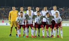 Latvijas futbola izlase 2017.gadu noslēdz ranga 132.vietā; Lietuvai jauns Baltijas antirekords