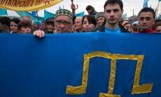 Foto: Krimas tatāri pieprasa nacionāli teritoriālās autonomijas statusu