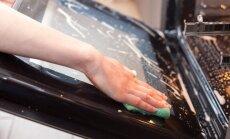 Apslēptā vieta: kā iztīrīt cepeškrāsni starp stikliem