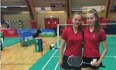 Latvijas badmintona spēlētāji starp 16 labākajiem turnīrā Norvēģijā