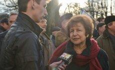 МИД: Жданок в Крыму никого не представляла
