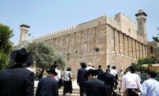 UNESCO iekļauj seno Hebronu Pasaules mantojuma apdraudēto pieminekļu sarakstā
