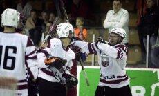 Последний спарринг перед ЧМ молодежка Латвии (U-20) выиграла