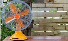 LNT: Karstās vasaras dēļ Latvijas veikalos izpirkti ventilatori