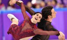Kanāda gāž Krieviju no olimpisko čempionu troņa daiļslidošanas komandu sacensībās