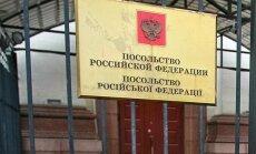 Krievijas vēstniecību Ukrainā vadīs no Latvijas izraidīts spiegs