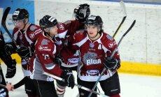 HK 'Rīga' uzvar pēdējā MHL regulārā čempionāta spēlē