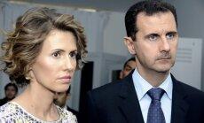Sīrijas pirmā lēdija noraidījusi piedāvājumus pamest valsti