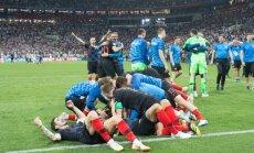 Perišičs: nav svarīgi, kurš guva vārtus, galvenais – Horvātija ir finālā